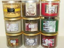 New Bath and Body Works White Barn 3 Wick Candle 14.5 oz You Choose Test Scents