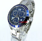 TISSOT MEN V8 SWISS MADE CHRONOGRAPH SAPPHIRE 43mm SOLID STEEL T0394171104702