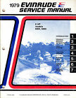 1979 Evinrude Service Manual 6 hp engines