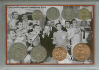 Liverpool FC Bill Shankly Vintage Retro League Champions Coin Fan Gift Set 1964