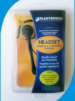 Plantronics M120 Ear-Loop Headset 2.5mm & 3.5mm Jack for Cordless Home Phone
