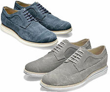 Cole Haan Mens Lunargrand Long Wing Tip Lace Up Casual Business Shoes