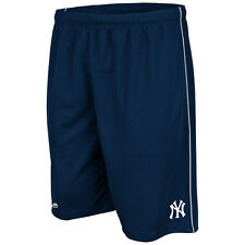 New York Yankees Navy with White Trim Majestic Men's Mesh Shorts Size Small