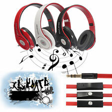 OVLENG X8 3.5mm Foldable Over-Ear Stereo Headphone Earphone Headset with Mic NEW