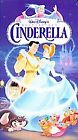 CINDERELLA - Disney Masterpice VHS Tape - NEW Sealed in Case -