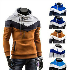 Mens Casual Fleeces Jacket Long Sleeve Sweatshirt Hoody Coat Hoodie Pullover TOP