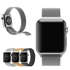 2015 New Milanese Magnetic Loop Stainless Steel Watch Band Strap For Apple Watch