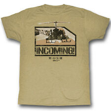MASH Incoming Helicopter T-Shirt **NEW tv show M*A*SH*