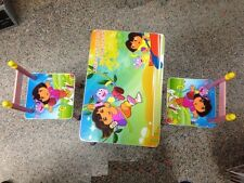2 CHAIR TABLE SET FOR BOYS GIRLS KIDS CHILDREN STUDY TABLE FUNITURE