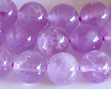 AA Grade Lavender Amethyst Round Loose Beads Natural Stone Beads 4-14mm