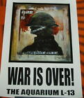 James Cauty - War is over! ART POSTER