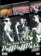 SNOOP DOGG: Puff Puff Pass Tour (DVD, 2004) New / Factory Sealed / Free Shipping