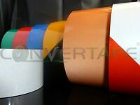 REFLECTIVE TAPE 100MM (10.2cm) WIDE SELF ADHESIVE ASSORTED COLOURS