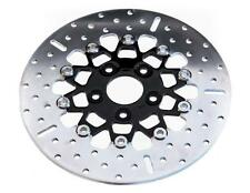 FLOATING BRAKE ROTOR CHROME W/BLACK CENTER