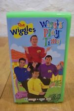 THE WIGGLES Wiggly Playtime VHS VIDEO 2001