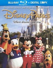 Disney Parks The Secrets, Stories, Magic Behind the Scenes BLU RAY + DVD NEW!