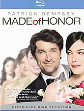 Made Of Honor Blu Ray Patrick Demsey Romantic Comedy