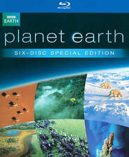 "FACTORY SEALED ""PLANET EARTH THE COMPLETE COLLECTION"" 6 DISC BLU-RAY BOX SET"