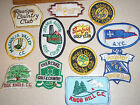 MAGNOLIA VALLEY COUNTRY CLUB GOLF PATCH ONE PATCH AUCTION BX K 60