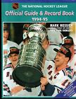 1994 1995 NHL ANNUAL OFFICIAL GUIDE & RECORD BOOK Mark Messier On Cover VG-EX +
