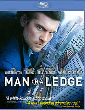 MAN ON A LEDGE (Blu-ray Disc, 2012) New / Factory Sealed / Free Shipping