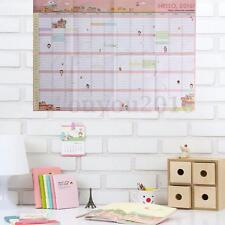 2016 Year Wall Hanging Calendar Planner  Daily Monthly Schedule For Home Office