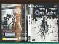 CHAOS LEGION Playstation 2 Japan Video Game p2