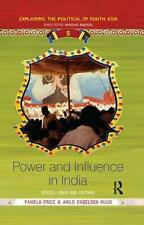 NEW Power and Influence in India by Paperback Book Free Shipping