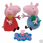 PEPPA PIG & GEORGE TY BEANIE BABIES TWIN PACK PLUSH SOFT TOYS NEW WITH TAGS