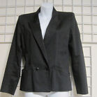 Liz Claiborne Black Jacket in Size 4 Fully Lined