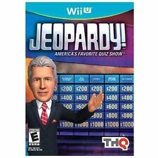 NEW Nintendo WiiU video game: Jeopardy! (Wii U) (Free U.S. Shipping)