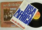 MICHAEL JACKSON WE ARE THE WORLD LP PROMO BRAZIL 1st PRES'85 WITH PRESS RELEASE