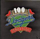 1990 LA Dodgers 100th ANNIVERSARY HAT PIN BACK BUTTON  ( Different From Unocal )