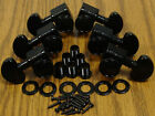 NEW Grover LOCKING BLACK TUNERS 3x3 for Gibson Les Paul SG Guitar Parts