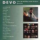 Devo - Q: Are We Not Men A: We Are / Devo Live CD NEW AND SEALED