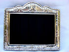 Pretty Finest Quality Silver 999 Purity London Britannia Hallmarked Photo Frame.