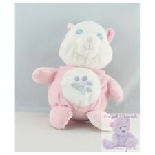 11835 - Doudou musical chat rose blanc GIPSY - Security blanket