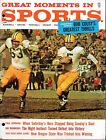 1962 GREAT MOMENTS IN SPORTS ANNUAL  Packers VG-EX
