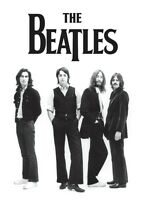 BEATLES fridge magnet 90mm x 70mm metal  band photo 1969