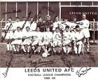 LEEDS UNITED FC 1969 SIGNED (PRINTED) x 18 BILLY BREMNER DON REVIE JACK CHARLTON