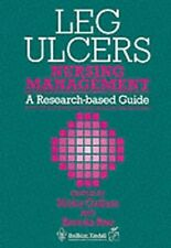 Leg Ulcers: Nursing Management, 1e, Cullum RN  PhD, Nicky, Good Condition Book,