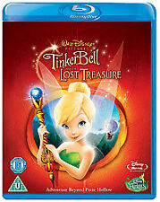 Tinker Bell And The Lost Treasure (Blu-ray, 2012) new - sealed