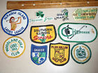 SOUTHERN ILLINOIS SENIORS GOLF CLUB ONE PATCH AUCTION BX K 61