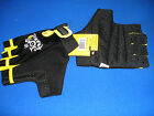 tour de france yellow jersey series cycling/bike mitts non slip gel L new