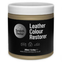 BEIGE Leather Dye Colour Restorer for Faded and Worn Leather Sofa etc.