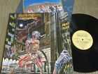 IRON MAIDEN SOMEWHERE IN TIME LP MADE IN BRAZIL 1st PRESS 1986 RARE