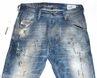 BNWT DIESEL KROOLEY 886P JEANS 28X30 AUTHENTIC CARROT FIT TAPERED LEG 0886P