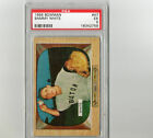 1955 Bowman Sammy White #47 PSA 5 P125
