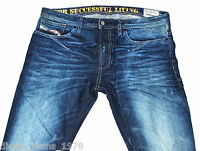 BNWT DIESEL SHIONER 880W JEANS 32X34 100% AUTHENTIC SKINNY FIT TAPERED LEG