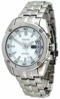 Seiko Superior SRP001 Men's Stainless Steel Silver Dial Automatic Watch